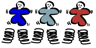 Mensgericht-organiseren